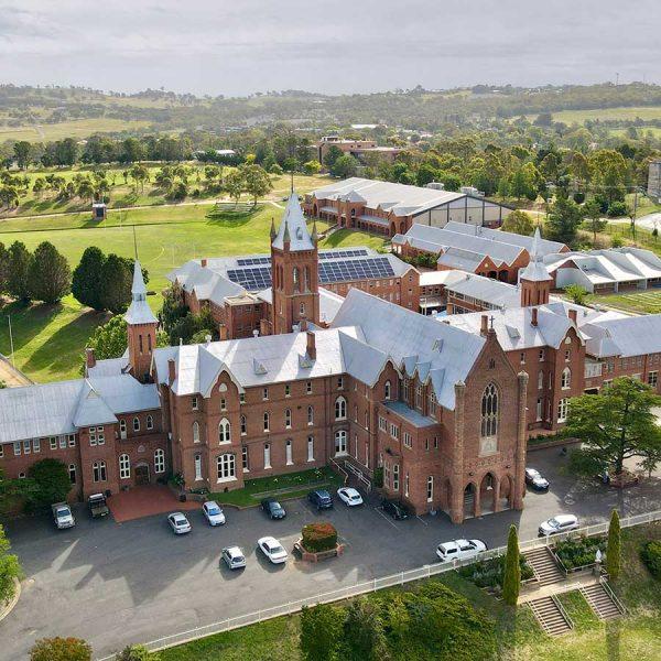 Exterior Drone Shot | St Stanislaus' Secondary College, Bathurst NSW